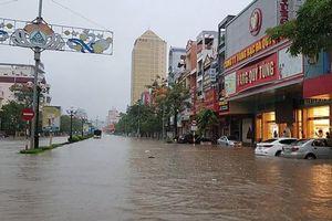 Thành phố Thái Nguyên chìm trong nước, 3 người thiệt mạng