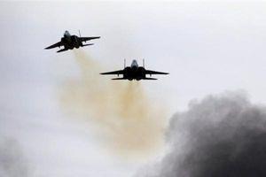 Không quân Isarel tấn công căn cứ Syria ở Bu Kamal