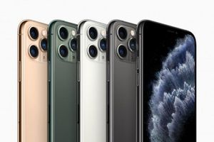Apple chính thức ra mắt iPhone 11 Pro và 11 Pro Max, giá từ 999 USD
