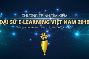 Tìm kiếm đại sứ E – Learning Việt Nam