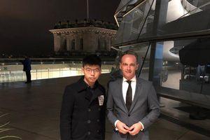 Trung Quốc thắc mắc việc Đức đón tiếp Hoàng Chi Phong