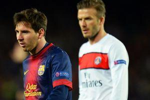 Beckham lên kế hoạch đưa Messi rời Barcelona