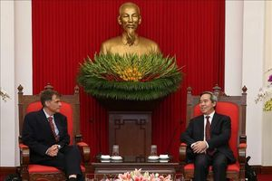 Tiếp tục thúc đẩy quan hệ đối tác toàn diện Việt Nam-Hoa Kỳ