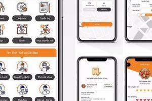 Startup Việt ra mắt ứng dụng 'Thế Giới Thợ' gọi thợ điện, nước...
