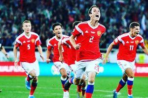 Sau khi thua tuyển Bỉ của Hazard: Tuyển Nga thắng liền 5 trận, ghi 18 bàn, lọt lưới 1 bàn