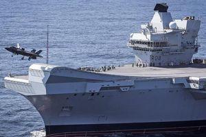 Soi tàu chiến tên nữ hoàng Anh vào Biển Đông khiến Trung Quốc nóng mặt