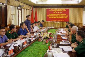 Đoàn công tác Ban Chỉ đạo 389 Quốc gia làm việc với BĐBP Hải Phòng