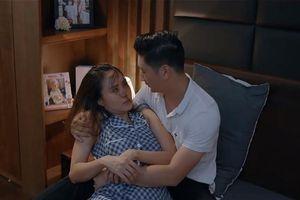 Hoa hồng trên ngực trái tập 11: Thái bị vợ cấm 'gần gũi', Trà tái mặt khi gặp Dung