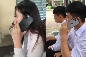 Clip, ảnh iPhone 11 Pro Max giá từ 34 triệu trên tay nhiều học sinh Việt