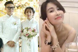 Dì hai Mina giải thích chuyện không có mặt ở đám cưới con riêng Minh Nhựa làm nhiều người khó hiểu