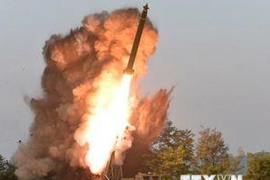 Vụ phóng tên lửa của Triều Tiên có thể không đạt mục tiêu dự định