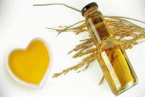 8 lợi ích vàng của dầu cám gạo