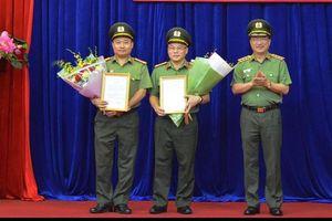Giám đốc Công an Bắc Ninh giữ chức Cục trưởng Cảnh sát kinh tế