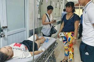 Nữ CĐV trúng pháo sáng ở sân Hàng Đẫy phải phẫu thuật ngay trong đêm