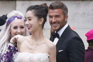 David Beckham hợp tác với Angelababy bị dân mạng Anh nói 'bóng gió': Anh ta chưa từng cười như vậy với vợ mình bao giờ cả