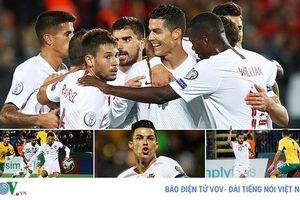 Cận cảnh: Cristiano Ronaldo ghi 4 bàn, lập kỷ lục ở Vòng loại EURO