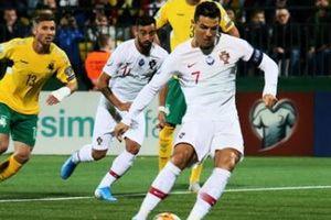 Ronaldo ghi 4 bàn cho Bồ Đào Nha