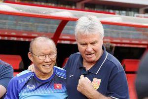 HLV Park Hang Seo 4 lần tìm gặp Guus Hiddink trên đất Trung Quốc: Tấm lòng kính trọng, tri ân đáng ngưỡng mộ