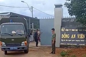 Người chứng kiến kể phút công an triệt phá xưởng sản xuất ma túy của người Trung Quốc ở Kon Tum