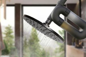 Vòi sen có khả năng tùy chỉnh chất lượng nước tắm