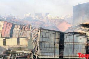 Công ty Rạng Đông bị đề nghị khẩn trương công bố thông tin ước tính thiệt hại do hỏa hoạn
