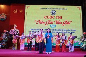 Thi 'Hòa giải viên giỏi': Thị xã Sơn Tây giành giải Nhất cụm 3