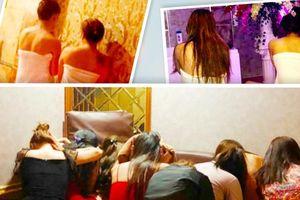 Bí mật trong phòng VIP 'động' massage: 7 nữ tiếp viên khỏa thân kích dục cho khách nam
