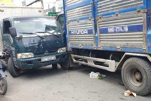 Mất phanh xe, ô tô tải gây tai nạn liên hoàn khiến 2 người thương vong