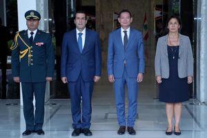 Đại sứ Trần Thành Công trình Thư ủy nhiệm lên Tổng thống Lebanon