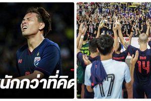Vòng loại World Cup 2022: Thái Lan chưa kịp vui với 'doping' thưởng thì nhận tin sốc