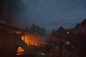 Cháy chợ Mộc Bài, hàng trăm tiểu thương thiệt hại nặng nề