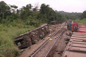 Congo: Ít nhất 50 người chết trong vụ trật bánh tàu hỏa kinh hoàng