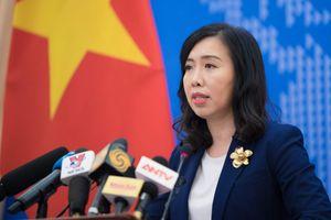 Việt Nam phản đối Trung Quốc cản trở hoạt động dầu khí trong EEZ