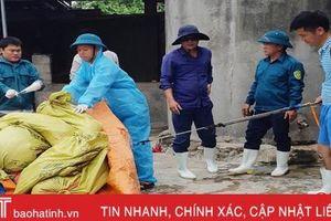 Sau lũ, dịch tả lợn châu Phi ở Can Lộc diễn biến phức tạp