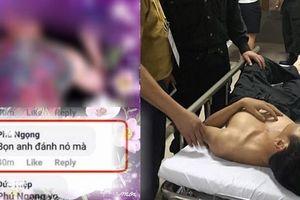 Thanh niên xăm trổ chửi bầu Hiển, khoe đánh CSCĐ nhập viện khi Nam Định thua 1-6