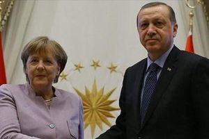 Lãnh đạo Thổ Nhĩ Kỳ và Đức trao đổi về tình hình Syria và Libya