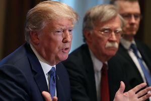 Tổng thống Trump tiết lộ chuyện 'hậu trường' với cựu cố vấn an ninh quốc gia John Bolton