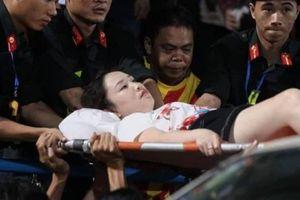 Chủ tịch Hà Nội yêu cầu công an xử nghiêm vụ bắn pháo sáng ở sân Hàng Đẫy