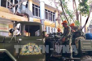 Vụ cháy Công ty Rạng Đông: Quân đội bắt đầu tiến hành tiêu tẩy độc