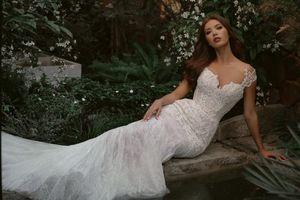 Minh Tú hóa cô dâu khoe thềm ngực gợi cảm khiến dân tình mê mải ngắm nhìn