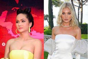 H'Hen Niê tiếp tục 'dính phốt' mặc váy đạo nhái từ thương hiệu nước ngoài