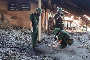 Bắt đầu tẩy độc thủy ngân vụ cháy công ty Rạng Đông