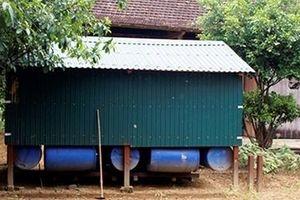 Những 'căn nhà thông minh' giúp dân thoát hiểm trong lũ dữ