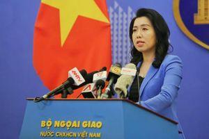 Phản đối việc tái diễn hành vi vi phạm chủ quyền Việt Nam của nhóm tàu Trung Quốc