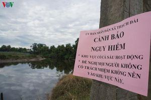 Không tìm thấy tung tích cá sấu trên sông Cầu Đông