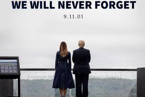 Đệ nhất phu nhân Mỹ bị chỉ trích mặc váy mô phỏng thảm kịch 11/9