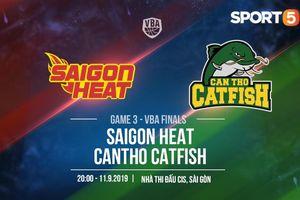 Làm khách của Saigon Heat, Cantho Catfish đối mặt với bài toán khó mang tên 'hồi sinh' Tâm Đinh