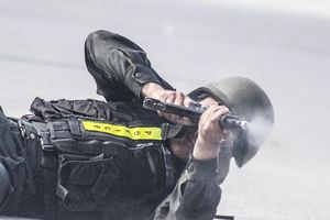 Mãn nhãn với màn võ thuật, bắn súng, đánh bắt khủng bố của Cảnh sát Cơ động Hà Nội