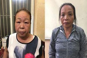 Bắt 2 'nữ quái' chuyên trộm cắp móc túi tại điểm dừng xe buýt chợ Hàng Da