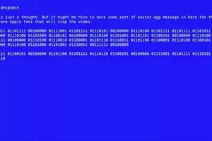 Apple dùng 'màn hình xanh chết chóc' gửi mật thư cho iFan ngay trên sân khấu ra mắt iPhone 11